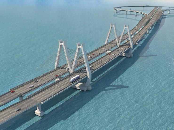 Indian-Italian JV lands Mumbai sea link - Bridge Design