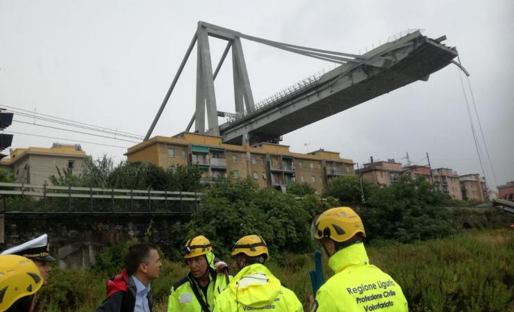 Genoa bridge collapse Aug 2018