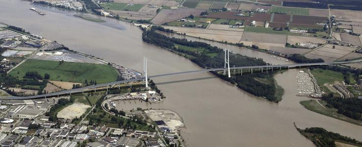 George Massey Bridge design