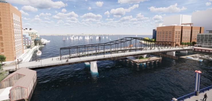 Northern Avenue Bridge - bold