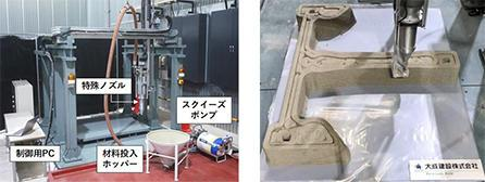 Taisei 3D-printed bridge - production