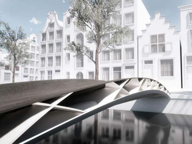 Design of 3D-printed bridge