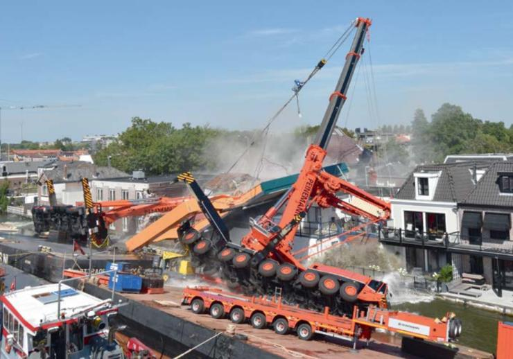 Overhead Crane Failure : Report finds that poor planning made dutch crane collapse
