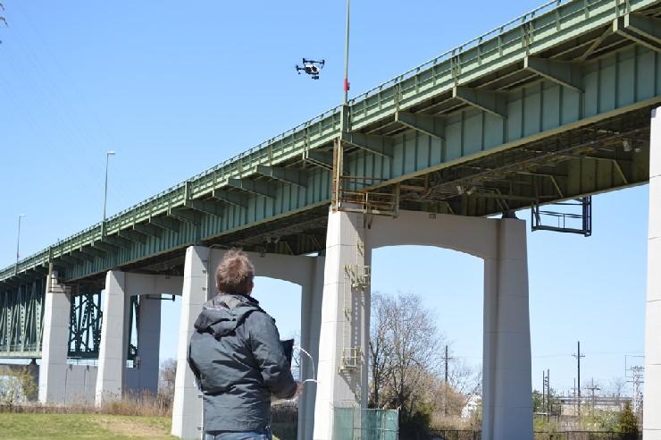 Drones - Delaware Memorial Bridge