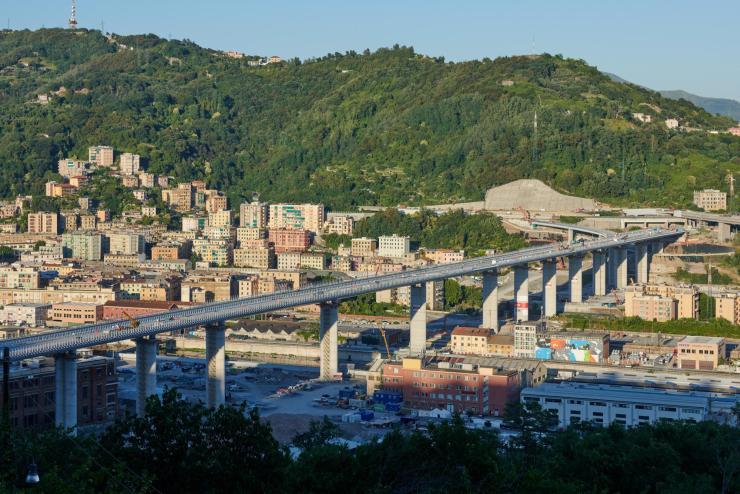 Genoa's new bridge opens after 15-month fast-tracked build - Bridge Design  & Engineering (Bd & e)