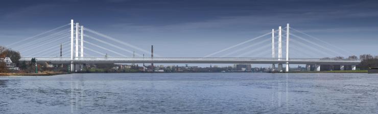 A40 bridge over the Rhine - Keipke Architekten