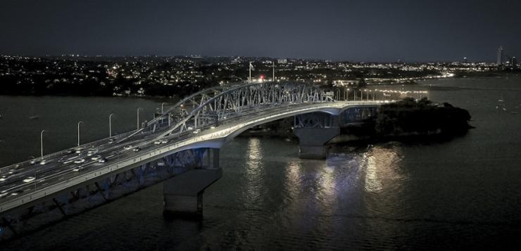 Auckland Harbour Bridge shared pathway