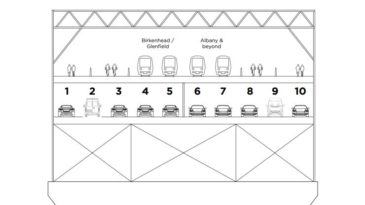 Auckland Harbour Bridge - John Tamihere plan
