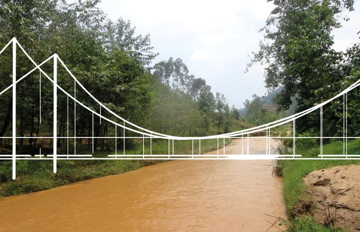 Kazabe Suspension Bridge