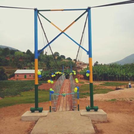 Gashyushya Suspension Bridge  - B2P
