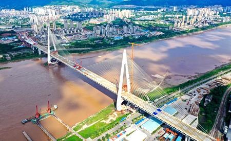 Baijusi Yangtze River Bridge