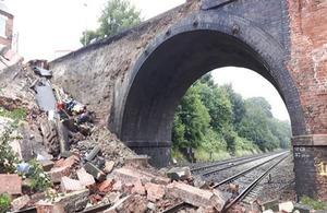 Barrow on Soar collapse
