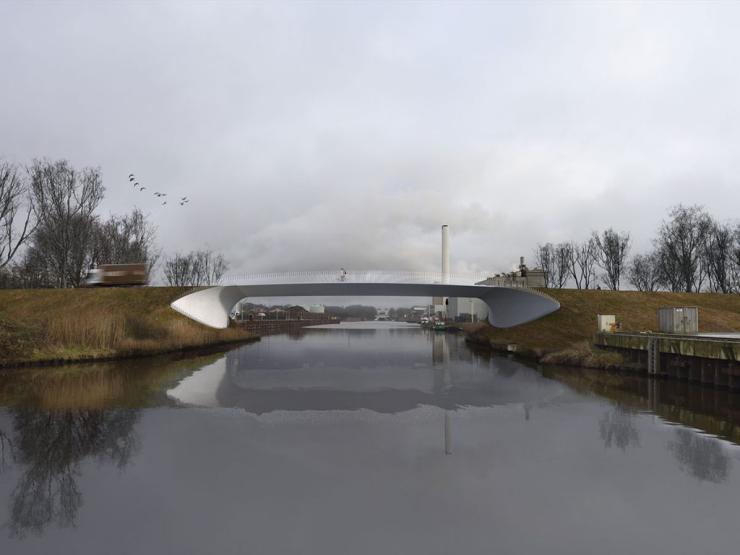 Hengelo integral bridge - Ney