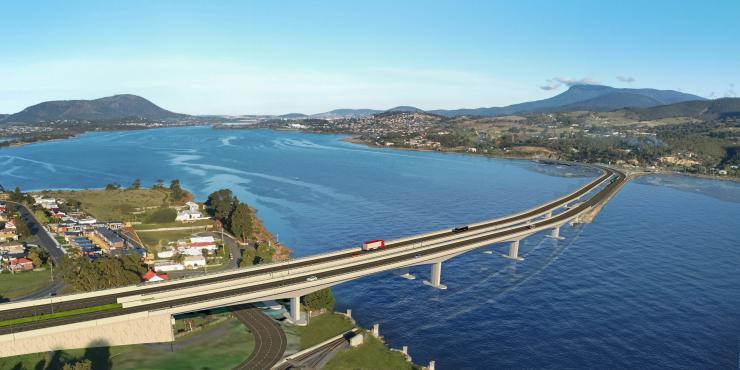 New Bridgewater Bridge - Option 1
