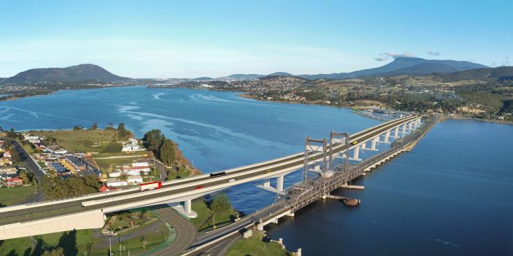 New Bridgewater Bridge - Option 2