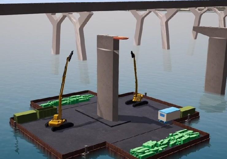 Champlain Bridge deconstruction