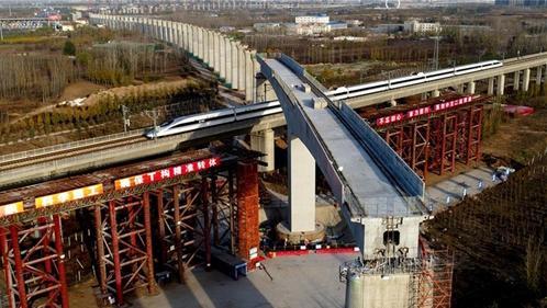 China - high-speed rail bridge