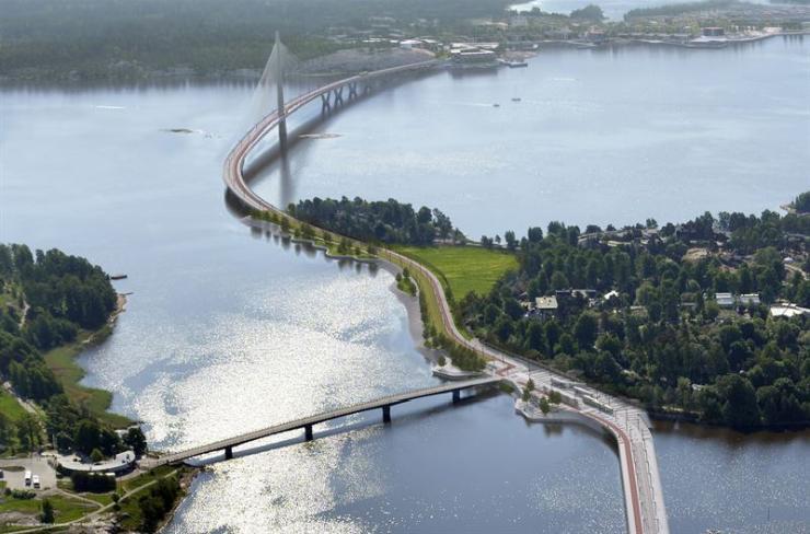 Crown Bridges project, Helsinki