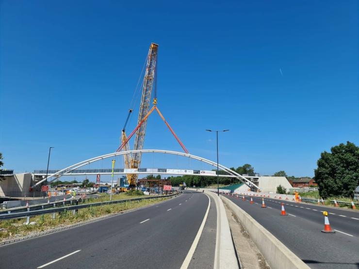 A52 footbridge
