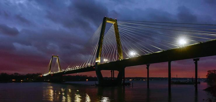Inauguration Marks Completion Of Us 2 3bn Ohio River
