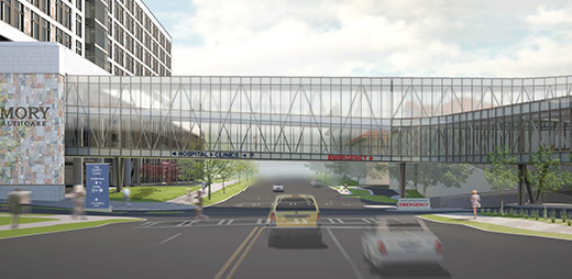 Emory University Hospital Bridge