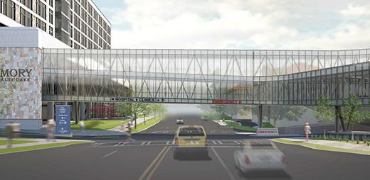 Emory University Hospital Bridge