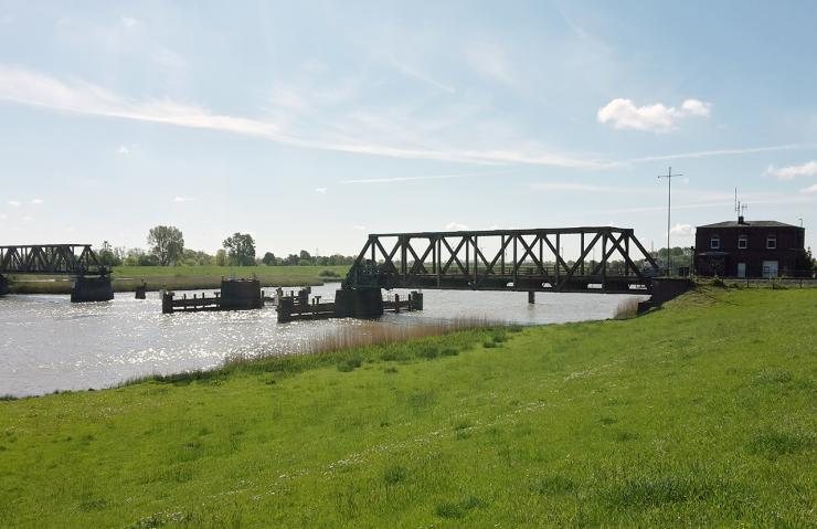 The Friesen Bridge after the accident