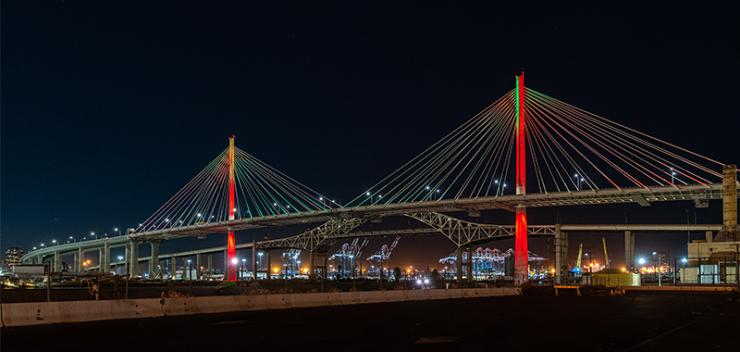 New Gerald Desmond Bridge