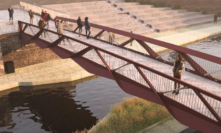 Granary Square Bridge