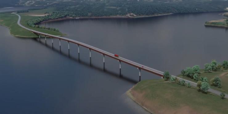 Halfway River Bridge