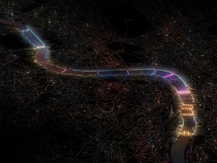 Illuminated River - Leo Villareal