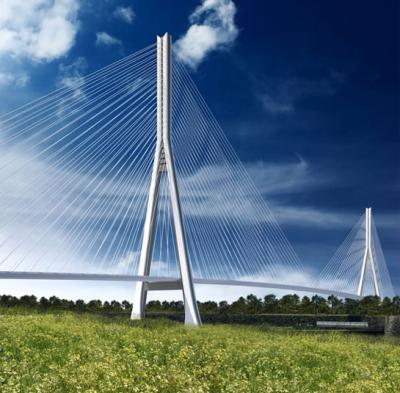 Gordie Howe Bridge - cable-stayed