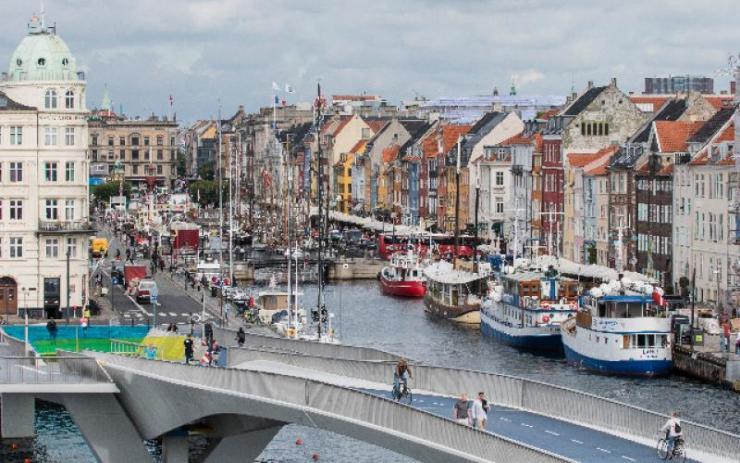 Inner Harbour Bridge, Copenhagen