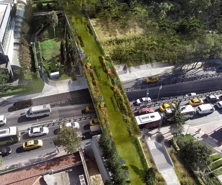 Istanbul eco bridge