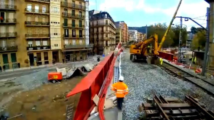 Iztueta Bridge installation - 3