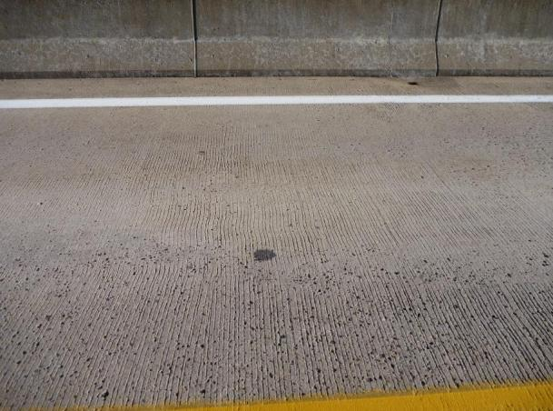 A lightweight concrete deck on Route 269 after 34 years