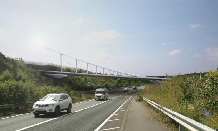 Luton Airport Gateway Bridge