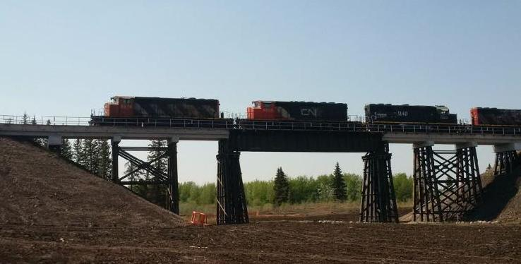 Mayerthorpe CN Rail Bridge