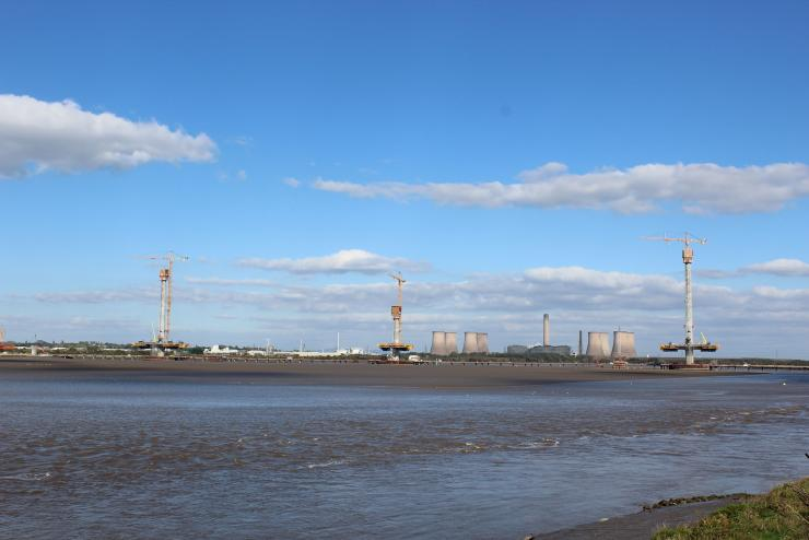 Tallest tower tops out at Mersey Gateway - Bridge Design
