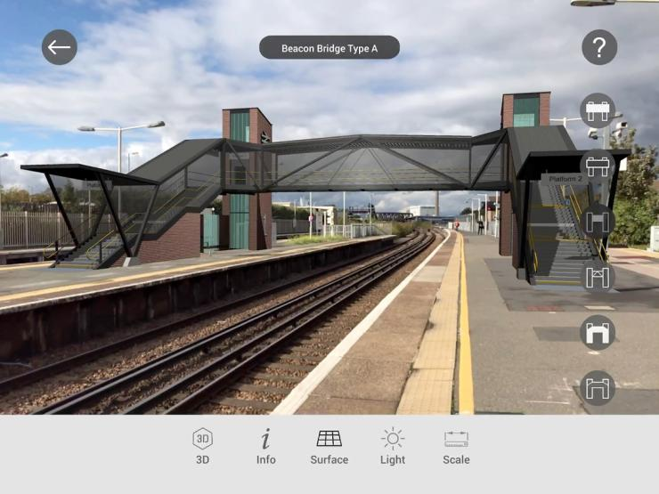 Network Rail - augmented reality