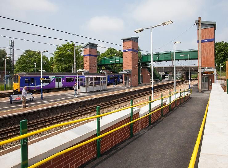 Network Rail footbridge
