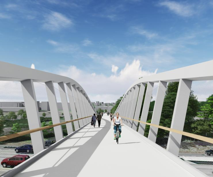 Northgate Pedestrian & Bicycle Bridge