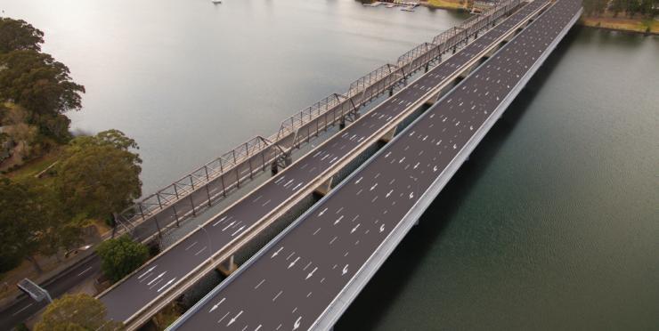 Nowra Bridge replacement