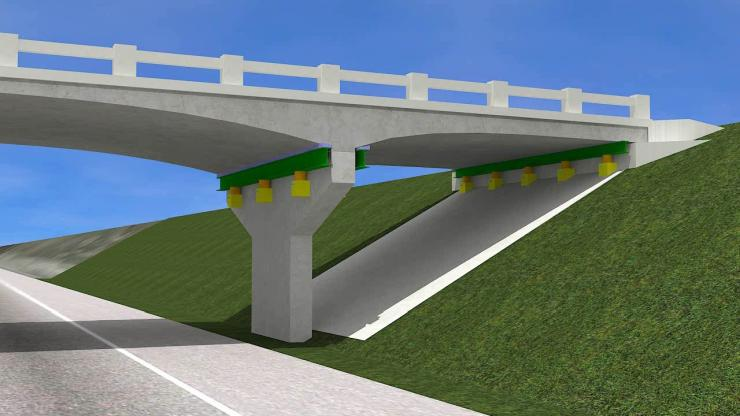 Raising bridges in Oklahoma