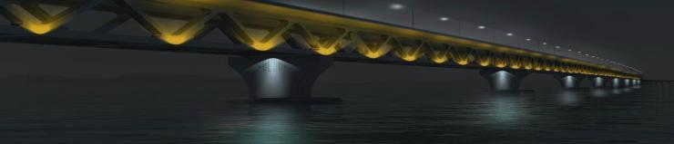 Padma Multipurpose Bridge - possible lighting