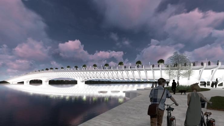 Parnu bridge design competition