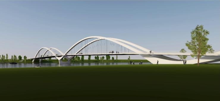 Parnu bridge design competition - winner