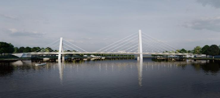 Parnu bridge design competition - 3rd place