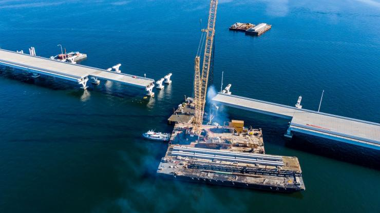 Pensacola Bay Bridge repairs