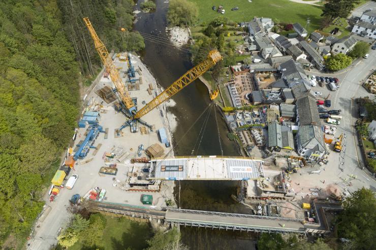 Pooley Bridge - installation